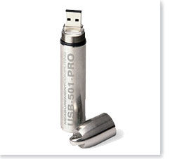 data logger usb de acero  inoxidable
